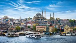 Find cheap flights from Dubai to Istanbul
